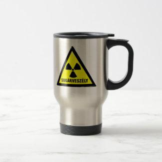 Caneca Térmica Perigo radioativo