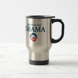 Caneca Térmica SEATTLE para o costume de Obama sua cidade