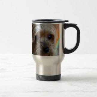 Caneca Térmica Senhora yorkshire terrier
