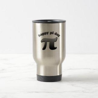Caneca Térmica Símbolo feliz do Pi do dia do Pi para nerd da
