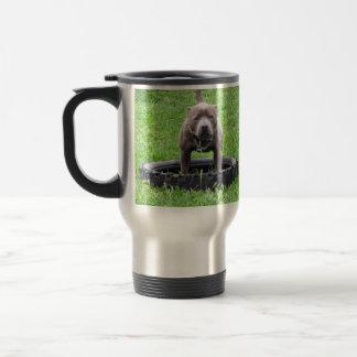 Caneca Térmica Staffordshire_Bull_Terrier _Travel_Mug.
