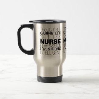 Caneca Térmica Texto da enfermeira