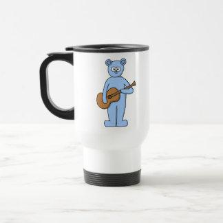 Caneca Térmica Urso do guitarrista