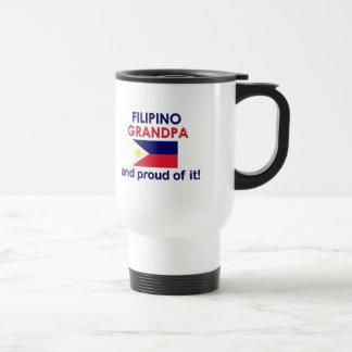 Caneca Térmica Vovô filipino orgulhoso