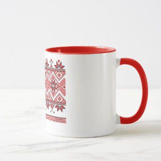Caneca ucraniana do ornamento