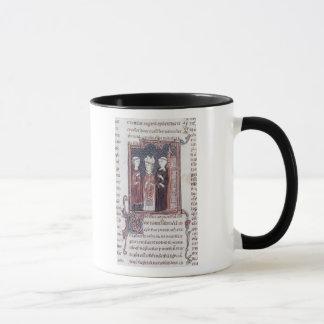 Caneca Uma monge, um Bishop e um abade