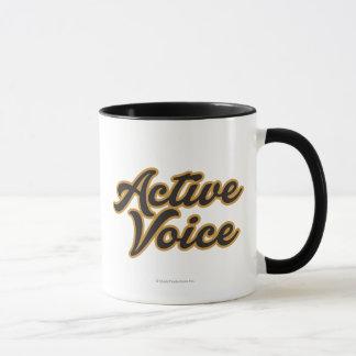 Caneca Voz ativa