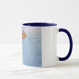 Caneca wasser-fisch-tasse taça pesqueiro aquático