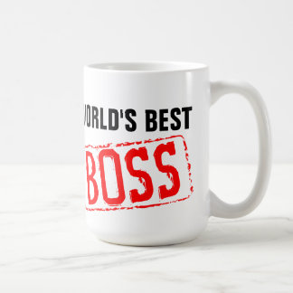 Canecas de café do chefe do mundo as melhores