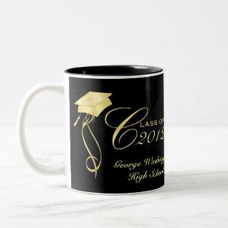 Canecas personalizadas da foto da graduação