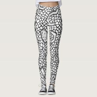 Caneleiras celulares do design leggings