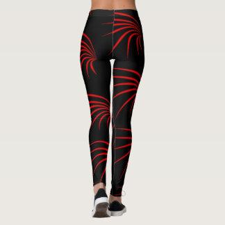 Caneleiras da arte abstracta leggings