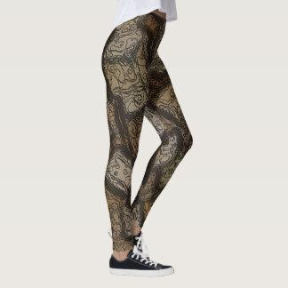 Caneleiras da camuflagem leggings