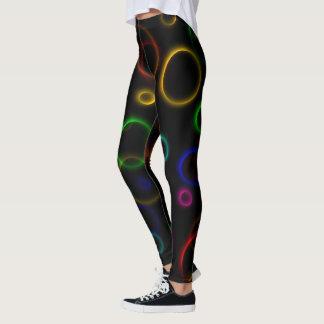 Caneleiras do arco-íris legging