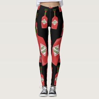 Caneleiras do molho picante leggings