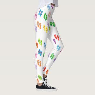 """Caneleiras dos """"chinelos"""" leggings"""
