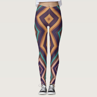 Caneleiras geométricas modernas da arte Vita2 do Leggings