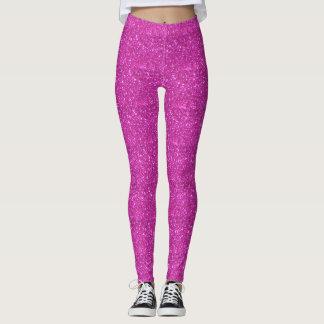 Caneleiras Sparkly Glittery cor-de-rosa bonito dos