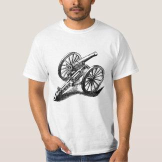 Canhão de Mitrailleuse T-shirts