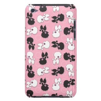 Caniche Cuties no ipod touch cor-de-rosa Capa Para iPod Touch