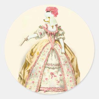 Caniche de Marie Antoinette Adesivo