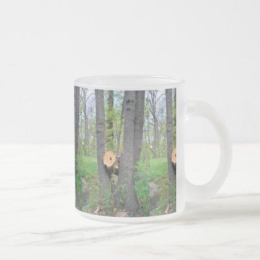 cânone da árvore caneca