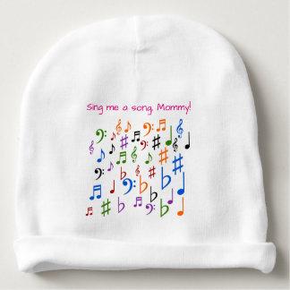 Cante-me uma canção, mamãe! gorro para bebê