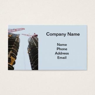 Canteiro de obras do Highrise com os dois grandes Cartão De Visitas