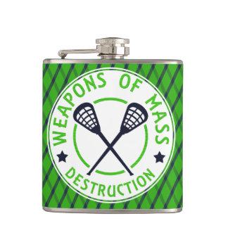 Cantil Armas do Lacrosse da garrafa da destruição