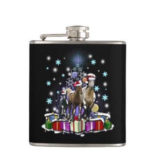 Cantil Cavalos com estilos do Natal