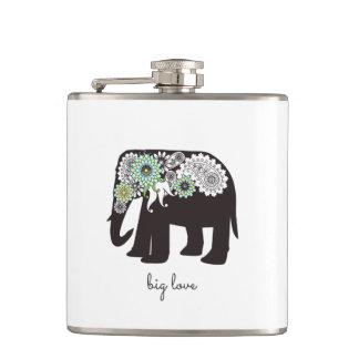 Cantil Costume animal bonito elegante do amor do elefante