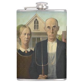 Cantil GRANT WOOD - 1930 gótico americano