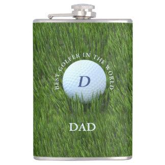 Cantil Pai o melhor jogador de golfe na garrafa Golfing