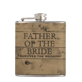Cantil País de madeira rústico que Wedding o pai de | da