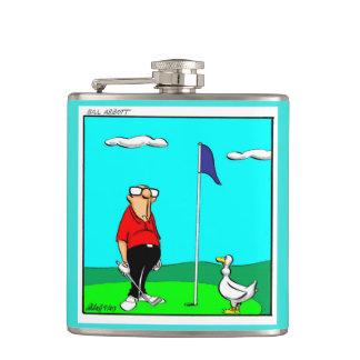Cantil Presente engraçado da garrafa do humor do golfe