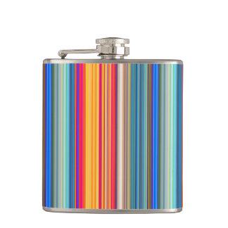Cantil Teste padrão listrado multicolorido