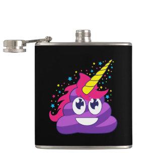 Cantil Tombadilho roxo de Emoji do unicórnio