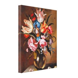 canvas 1632 florais da arte do vintage 16x20