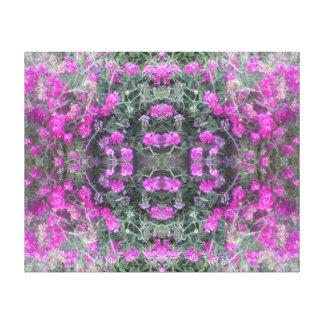 Canvas 2016 cor-de-rosa do verão do Fractal da