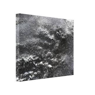 Canvas abstratas pretas & do branco da fotografia impressão em tela