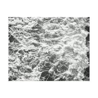 Canvas da antena do oceano impressão de canvas envolvidas