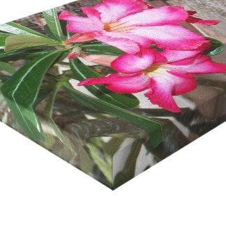 Canvas da flor impressão em tela