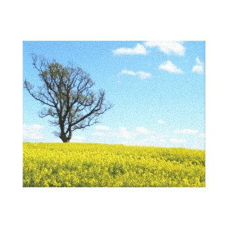 Canvas da natureza impressão em tela