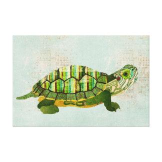 Canvas da tartaruga do jade impressão de canvas envolvidas