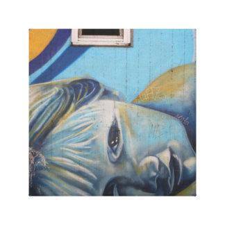 Canvas de arte bonitas dos grafites do bebê