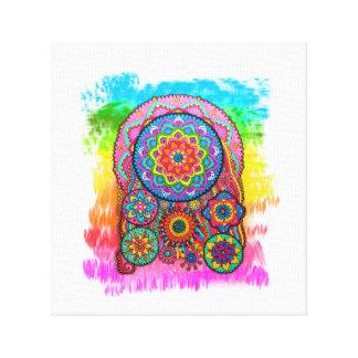 Canvas de arte curas de activação da mandala da