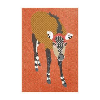 Canvas de arte de Nilgi do vintage Impressão Em Canvas