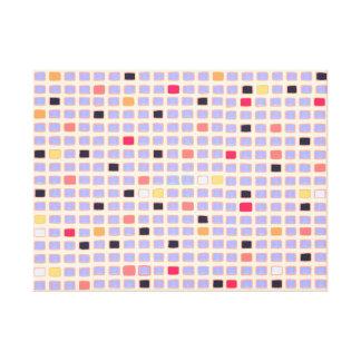 Canvas de arte geométricas do abstrato do estilo