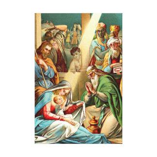 canvas de jesus do bebê
