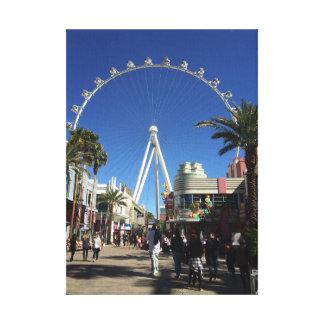 Canvas de Las Vegas da roda de Ferris do rolo alto